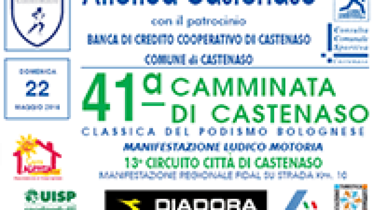 41° Camminata di Castenaso il 22 maggio 2016